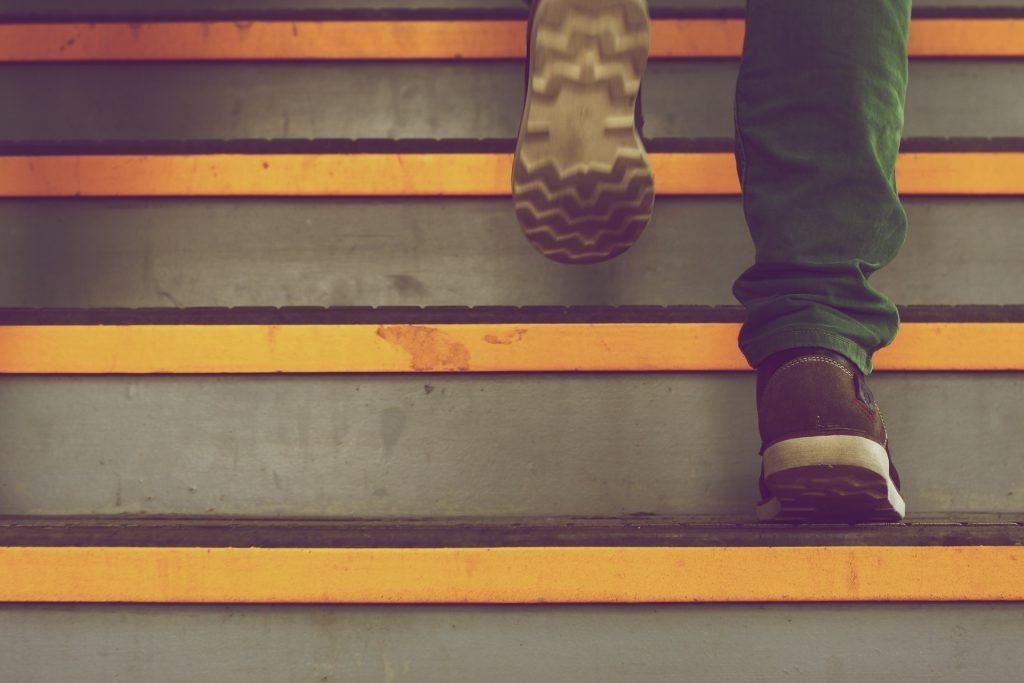 Escalera adolescente