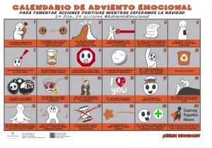 CALENDARIO DE ADVIENTO EMOCIONAL 2019